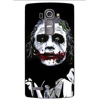Absinthe Villain Joker Back Cover Case For LG G4