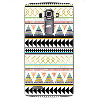 Absinthe Aztec Girly Tribal Back Cover Case For LG G4