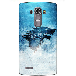 Absinthe Game Of Thrones GOT House Stark Back Cover Case For LG G4