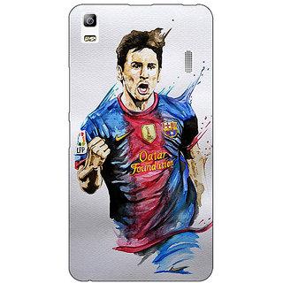 Absinthe Barcelona Messi Back Cover Case For Lenovo K3 Note
