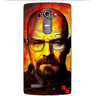 Absinthe Breaking Bad Heisenberg Back Cover Case For LG G4