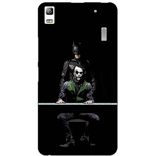 Absinthe Superheroes Batman Dark knight Back Cover Case For Lenovo K3 Note