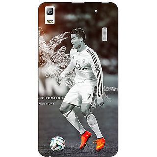 Absinthe Cristiano Ronaldo Real Madrid Back Cover Case For Lenovo K3 Note