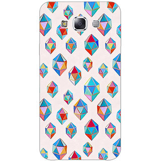 Absinthe Diamonds of Dreams Pattern Back Cover Case For Samsung Galaxy J3