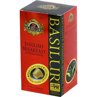 BASILUR - TEA CAPSULES - BOX BOARD - ENGLISH BREAKFAST (NEW SHAPE)