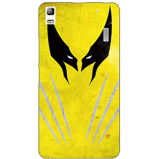 Absinthe Superheroes Wolverine Back Cover Case For Lenovo K3 Note