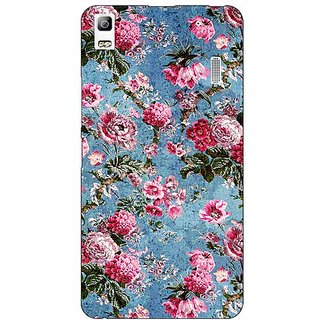 Absinthe Floral Pattern  Back Cover Case For Lenovo K3 Note