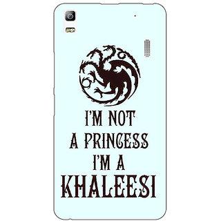 Absinthe Game Of Thrones GOT Princess Khaleesi Back Cover Case For Lenovo K3 Note