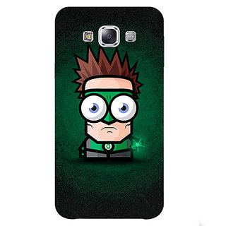 Absinthe Big Eyed Superheroes Green Lantern Back Cover Case For Samsung Galaxy J3
