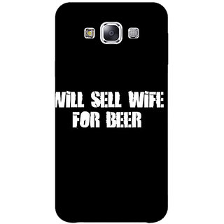 Absinthe Beer Quote Back Cover Case For Samsung Galaxy J3
