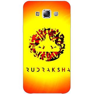 Absinthe Rudraksha Back Cover Case For Samsung Galaxy J3