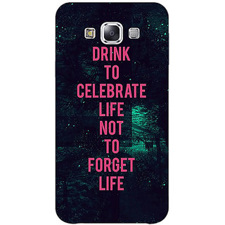 Absinthe Drinking Quote Back Cover Case For Samsung Galaxy J3