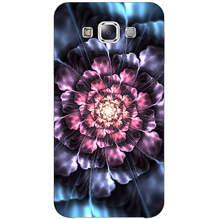 Absinthe Abstract Flower Pattern Back Cover Case For Samsung Galaxy J3