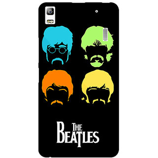 Absinthe The Beatles Back Cover Case For Lenovo K3 Note