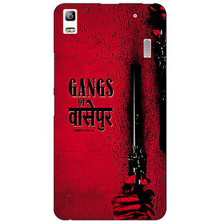 Absinthe Bollywood Superstar Gangs Of Wasseypur Back Cover Case For Lenovo K3 Note