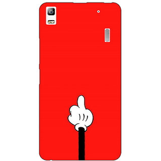 Absinthe Mickey Mouse Back Cover Case For Lenovo K3 Note