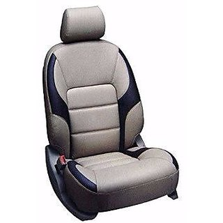 Beige  Black Seat Cover For (all small cars)