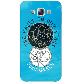 Absinthe TFIOS World  Back Cover Case For Samsung Galaxy J3