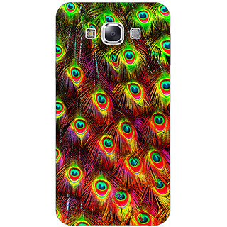 Absinthe Paisley Beautiful Peacock Back Cover Case For Samsung Galaxy J3