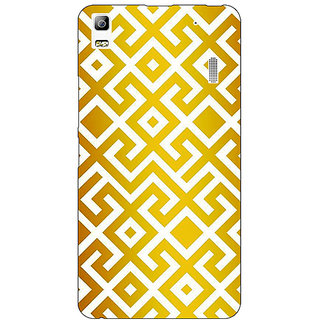 Absinthe Geometric Pattern Back Cover Case For Lenovo K3 Note