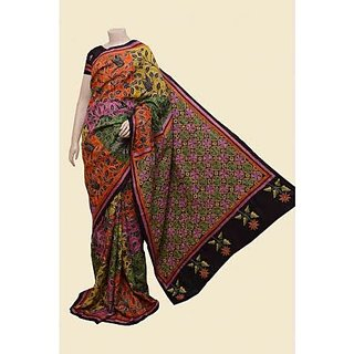 SimpleSarees Printed Casual Wear Sarees With Blouse