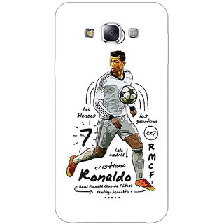 Absinthe Real Madrid Ronaldo Back Cover Case For Samsung Galaxy J5