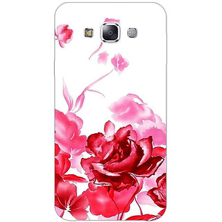 Absinthe Floral Pattern Back Cover Case For Samsung Galaxy J3
