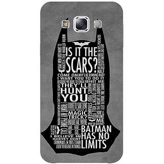 Absinthe Superheroes Batman Dark knight Back Cover Case For Samsung Galaxy J7