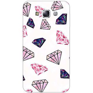 Absinthe Diamond Back Cover Case For Samsung Galaxy J7