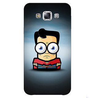 Absinthe Big Eyed Superheroes Superman Back Cover Case For Samsung Galaxy J7