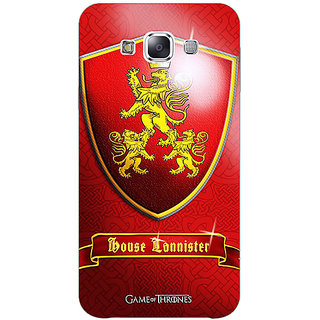 Absinthe Game Of Thrones GOT House Lannister  Back Cover Case For Samsung Galaxy J7
