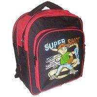 Apnav Black-Red Kids School Bag
