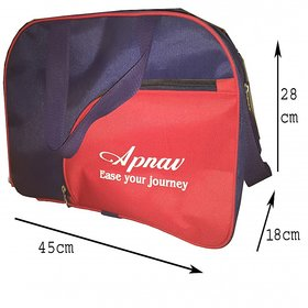 Apnav Blue-Red Gym Bag
