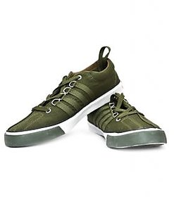 SPARX Men Green Lace-up Smart Casuals Shoes