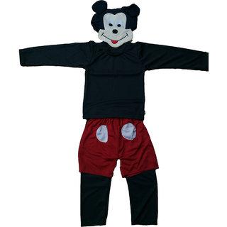 Mickey Mouse Micky Fancy Dress Cartoon Costume For Kids