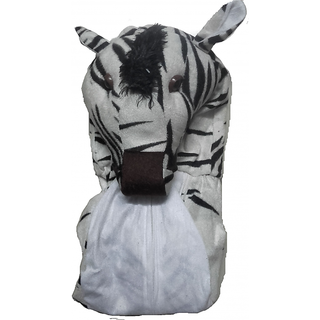 Zebra Animal Fancy Dress Costume For Kids