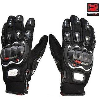 Favourite Bikerz Fbz Riding Gloves (Xl, Black)