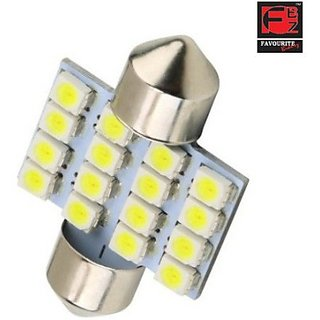 Favourite Bikerz Fbz 16Smd 2434 Car Led Bulb (Interior Light Pack Of 1)