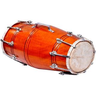 Sg Musical Sandli Nut Bolt Dholak Free Carry Bag Sdl989614804