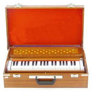 Sg Musical Folding Harmonium Natural Color Sdl556644298
