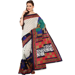 Parchayee Multicolor Georgette Printed Saree With Blouse