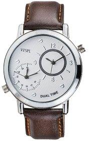 Vespl Maestro Dual Time Analog Men Watch-VS193