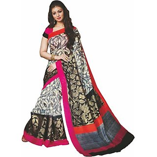 Sunaina Printed Fashion Cotton Linen Blend Saree (SAREE8A8XJDXQHKG)