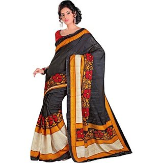 Sunaina Printed Fashion Art Silk Saree (SAREDF5EMWND5RHY)