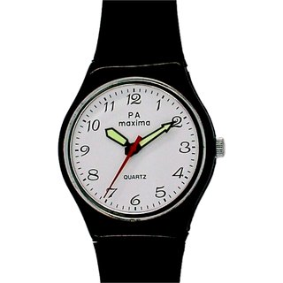Maxima 02020PPGW Quartz Round Men Watch