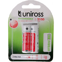 Uniross 2100 Mah Hybrio Rechargeable Batteries