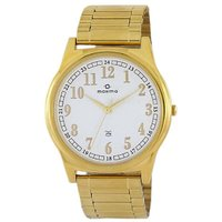 Maxima Quartz White Round Men Watch 34752CMGY