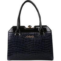 My Mini Mee Synthetic Leather Handbag Black G2596PBLACK