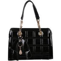 My Mini Mee Synthetic Leather Handbag Black LP25BLACK