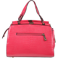My Mini Mee Synthetic Leather Handbag Pink LP44PINK